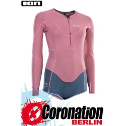 ION AMAZE HOT SHORTY LS 1.5 FZ DL 2021 combinaison neoprène dirty rose
