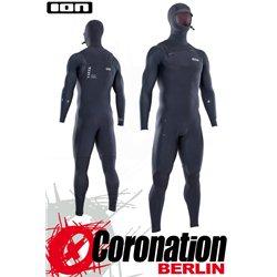 ION SEEK AMP SEMIDRY HOOD 6/5 FZ DL 2021 neopren suit black