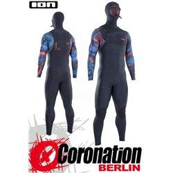 ION SEEK AMP SEMIDRY HOOD 6/5 FZ DL 2021 neopren suit black/black capsule