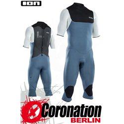 ION Seek Core Overknee SS 3/2 BZ DL 2021 - steel blue/white/black