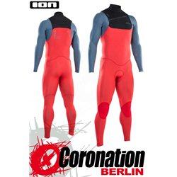 ION Seek Core Semidry 4/3 FZ DL 2021 - red/steel blue/black