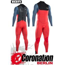 ION Seek Core Semidry 5/4 BZ DL 2021 - red/steel blue/black