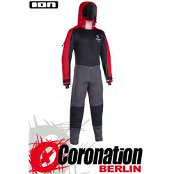 ION Fuse Drysuit 4/3 BZ DL 2021 - black/red