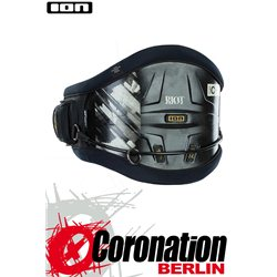 ION Riot Curv 14 Kite Waist Harness Hüfttrapez - black