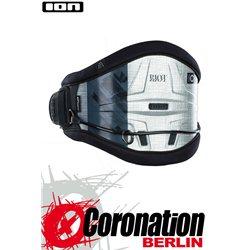 ION Riot Curv 14 Kite Waist Harness waist harness - silver