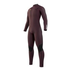 Mystic MARSHALL fullsuit 4/3MM FZ 2021 neopren suit merlot
