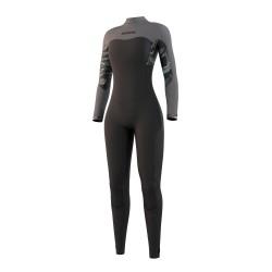 Mystic DAZZLED fullsuit 4/3MM BZIP 2021 neopren suit black