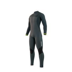 Mystic MAJESTIC fullsuit 5/3MM FZIP 2021 neopren suit dark leaf