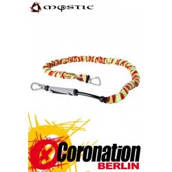 Mystic Handle Pass Leash Neo red yellow