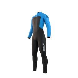 Mystic STAR fullsuit 4/3MM BZIP 2021 neopren suit global blue