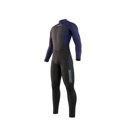 Mystic STAR fullsuit 3/2MM BZIP 2021 neopren suit night blue