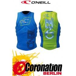 O'Neill Prallschutzweste Techno Pullover Kite Vest Lime