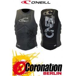O'Neill Prallschutzweste Techno Pullover Kite Vest Black