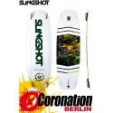 Slingshot ASYLUM TEST Kiteboard 141 + DUALLY pads et straps