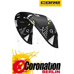 CORE XR6 TEST Kite 9qm - 100% NO KITESCHOOL