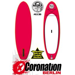 NGU Inflatable SUP Allrounder 10'6x34''x6'' Standup Paddle Board - red