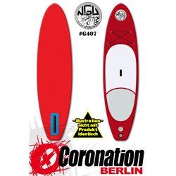 NGU Inflatable SUP Allrounder 10'6x32''x4,75'' Standup Paddle Board - bleu