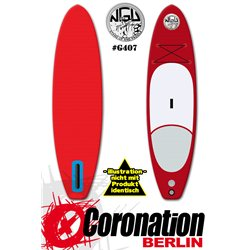 NGU Inflatable SUP Allrounder-Tourer 11'6x32''x6'' - red