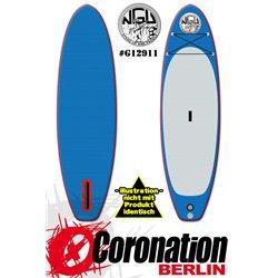 NGU Inflatable SUP Allrounder 10'6x34''x6'' Standup Paddle Board - blanc
