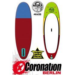 NGU Inflatable SUP Allrounder 10'6x32''x6'' Standup Paddle Board - bleu