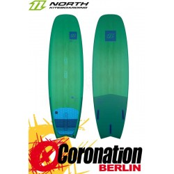 North WHIP CSC 5´5 TEST Kiteboard + complete Frontpad
