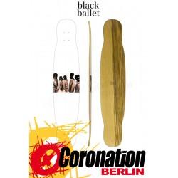 """Black Ballet FIVE 43.3"""" Longboard Deck"""