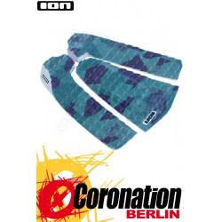 ION SURFBOARD PADS CAMOUFLAGE 3 PCS petrol/camo