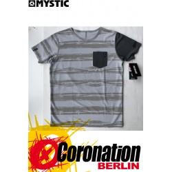 Mystic MAJESTIC Wetshirt S/S Grey/White