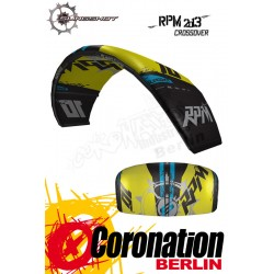 Slingshot RPM 2013 Crossover Kite 8m² mit Bar