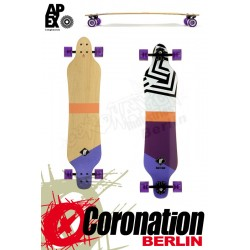 Apex Serpentine Maple Longboard Komplett