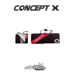 Concept-X Kiteboardbag Stream 159 rot-schwarz