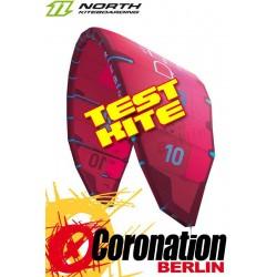 North Rebel 2017 TEST Kite 12m² gebraucht (Rot)