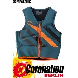 Mystic BLOCK Impact Vest FZ Teal