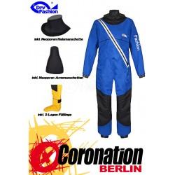 Dry Fashion PROFI SAILING REGATTA Trockenanzug blau (inkl. Neo Manschetten und Füßlinge)