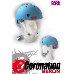 King Kong Helm BMX Skate - cyan mat