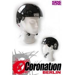 King Kong Helm BMX Skate - black glanz