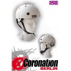 King Kong Helm BMX Skate - blanc mat