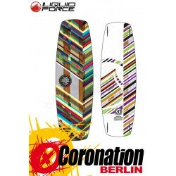 Liquid Force LFX Kiteboard 138 cm komplett mit Comp Straps