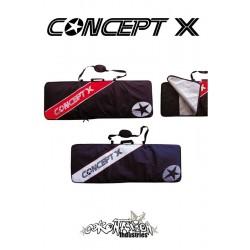 Concept-X Kiteboardbag Stream 167 blau-weiß