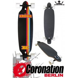 "Krown Longboard Komplett Elite 36"" Drop Through"