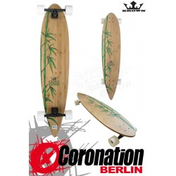 Krown Longboard Komplett Exotic Pintail Bamboo Cruiser