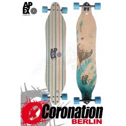 Apex Longboard Komplett Stingray Maple Flex1