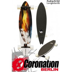 Paradise Longboard White Sunset complèteboard