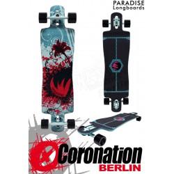 Paradise Longboard Graffiti Komplettboard