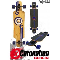 Paradise Longboard Bubbles Bamboo complèteboard