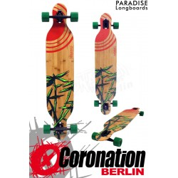 Paradise Longboard Sun Bamboo Komplettboard