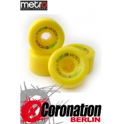 Metro Wheel Motion roulettes 70mm 78a - Gelb