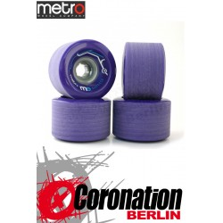 Metro Wheel Express roulettes 77mm 78a - Purple