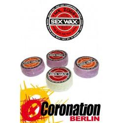 Mr. Zogs Sex Wax 75g Warm Water surf Wax