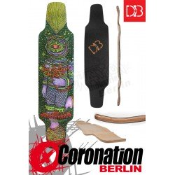 "DB The Cosmonaut Longboard Deck 41"" mit Grip"